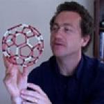 Jonathan Hare with Bucky Ball